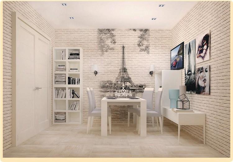 ПВХ панель  2700х375х8 Эйфелева башня