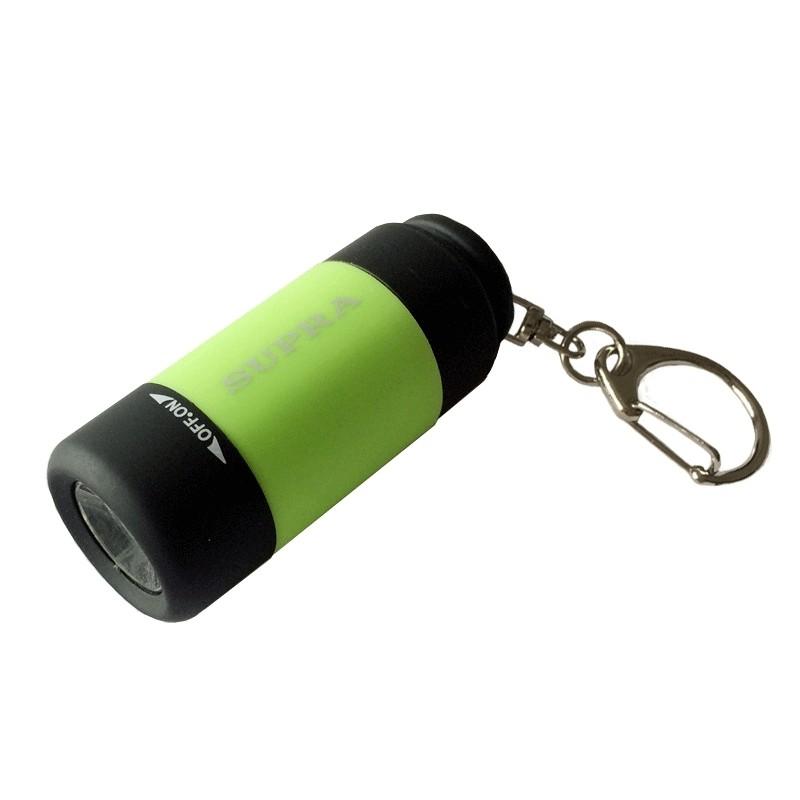 Фонарь-брелок SUPRA SFL-ВК-01 зеленый