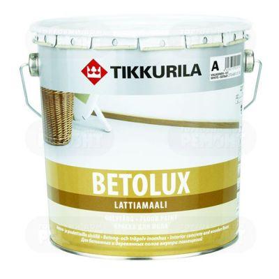 Краска Tikkurila Бетолюкс д/пола алкид.белый 2,7л