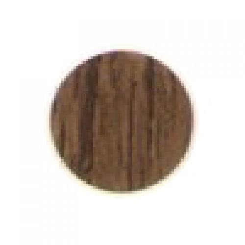 Заглушка-самоклейка d=14мм коричневый антик