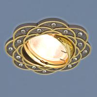 Светильник точ - 8006 GU/GD черный/золото
