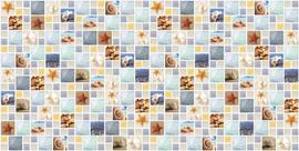 ПВХ панель мозаика лагуна(955х480)