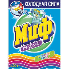 Стиральный порошок  МИФ-Автом Свеж.цв.унив 400г