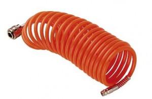 Шланг FUBAG спиральный с фитингами рапид, 6*8мм,15 м арт.170025