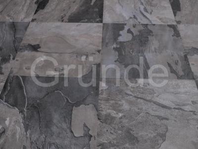 Ламинат GRUNDE Stone Collection 2206 Сланец черный  1200х407х12мм 1уп.-2,442 м2 33 класс