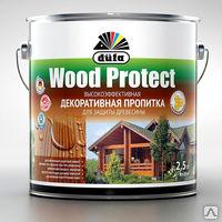 Пропитка Дюфа Wood Protect 2,5л бесцветный д/защиты древесины