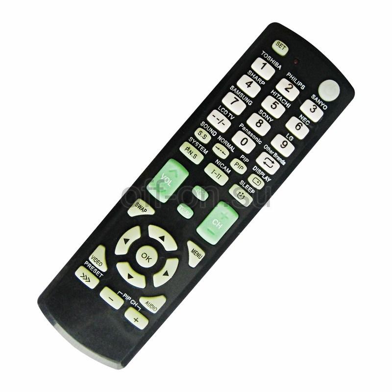 Пульт Рексант универсальный для телевизора RX-Е877,38-0015
