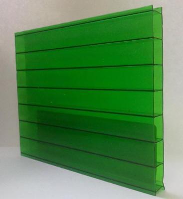 Поликарбонат 10мм зеленый