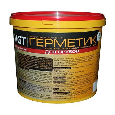 Герметик ВГТ акриловый для срубов сосна 15кг