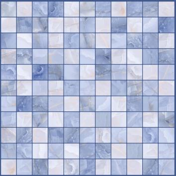 Мозаика Орнелла синяя 5032-0202 30X30