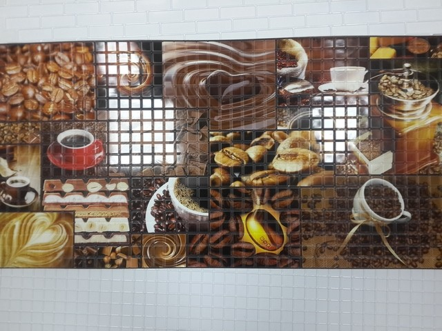 ПВХ панель Аромат кофе 964х484 мм