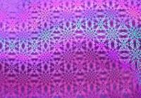 Пленка с/к 0,45м*8м LB-066К D&B голография фиолет