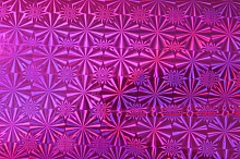 Пленка с/к 0,45м*8м LB-042F D&B голография малин