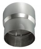 Дымоход переходник  ф115Мх120П мм 0,5мм н/ж