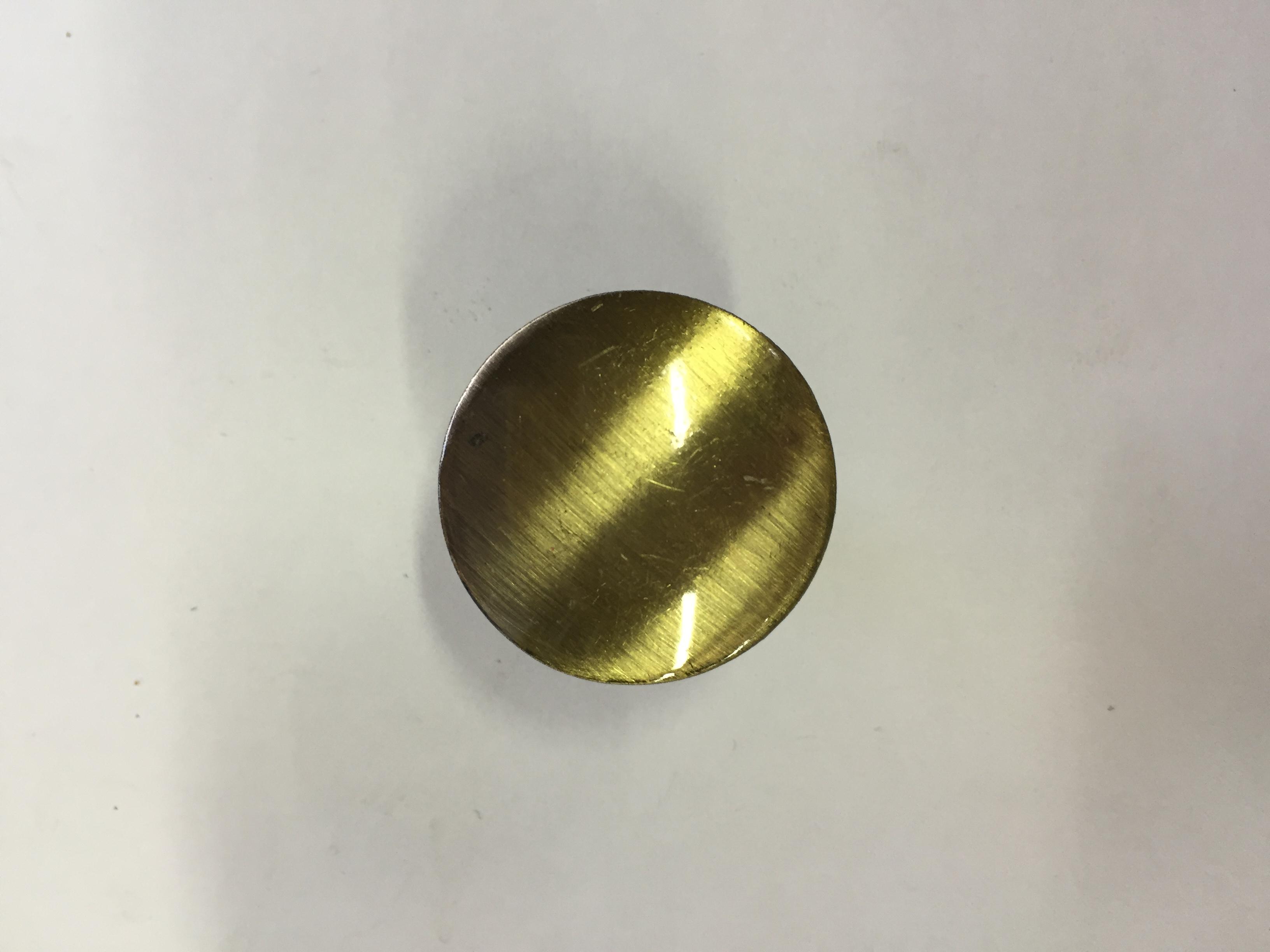Ручка-кнопка 870 сатин