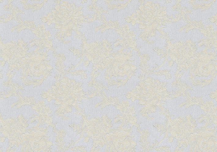 0448/8 Обои 1,06*10 м флиз  горяч тисн  Белиссимо сер.золото