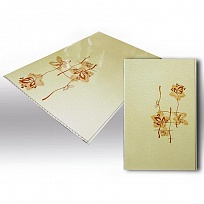 ПВХ панель  2700х250х7 Орхидея розовая