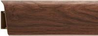 Плинтус напольный Royal 225 орех Тасмания