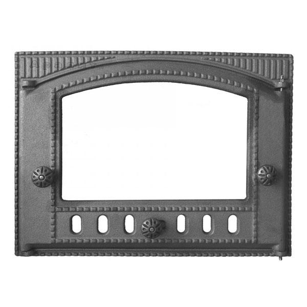 Дверка топочная ДТК-2С  300х375 стекло Рубцовск