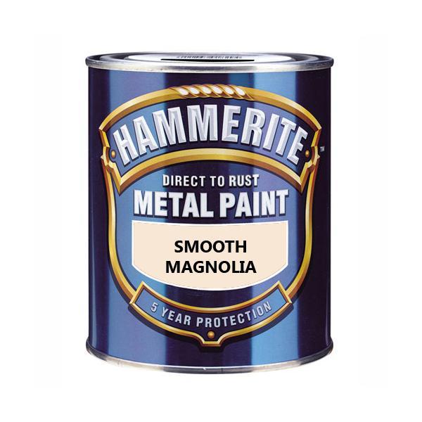 Хаммерайт краска 0,75 л магнолия гладкая