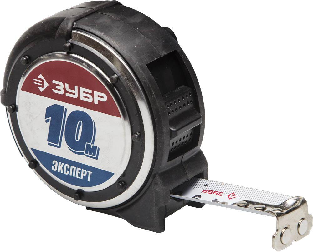 Рулетка 10м х 25мм (магнит) ЗУБР