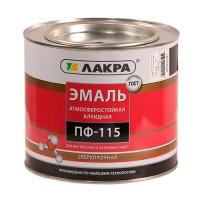 Эмаль ПФ-115 (Лакра Синтез) черный 1,9 кг