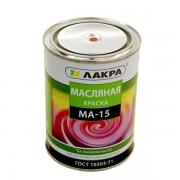 Краска МА-15  1,9 кг Красный Лакра