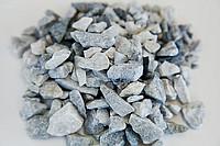Щебень мрамор серо-голубой 10-20