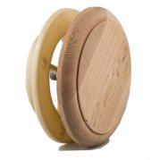 Клапан вентиляционный ф100мм комбинир древесина 248/100