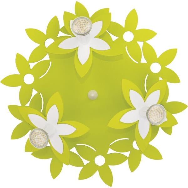 Светильник NOWODVERSKI-6900 Flowers зеленый 3