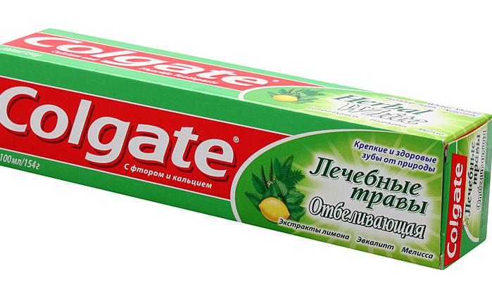 Зубная паста Колгейт 100 мл Лечебные травы