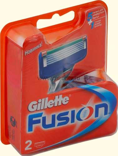Кассеты Gillette Fusion 2(шт)