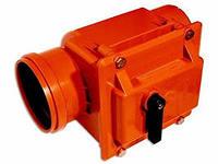 ПВХ Обратный клапан красный ф110