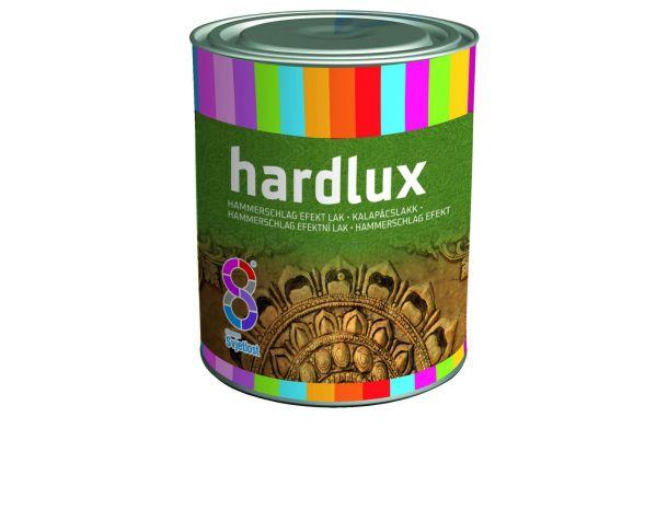 Эмаль по метал. Hardlux молотковая белая 2,5л Хорватия