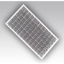 Решетка вентиляционная радиаторная Р60120ДП, белая