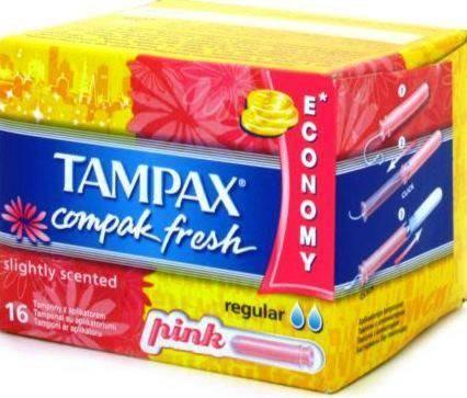 Тампоны TAMPAX с аплек супер плюс с регуляр
