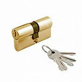 Цилиндровый механизм Amig 9500-80 золото