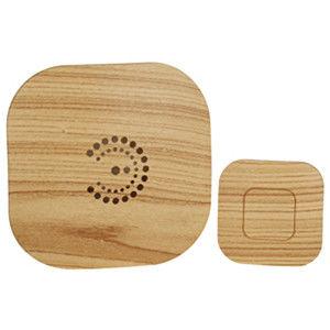 Звонок беспроводной ЭРА BIONIC Bright wood