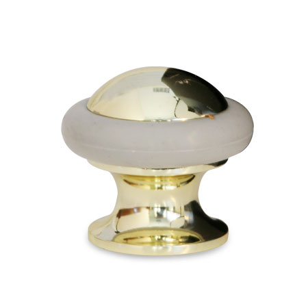 Упор дверной Apecs DS-0011, золото