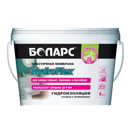 Гидроизоляция Hydro Fleх 6 кг Боларс