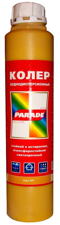 "Колер ""PARADE"" 0,75 л охра"