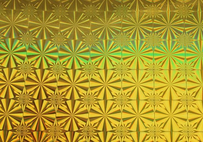 Пленка с/к 0,45м*8м LB-042В D&B голография зол