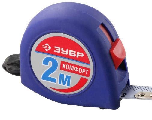 Рулетка 2м х 16мм (без магнита) ЗУБР