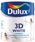 Краска Дюлакс 3D ослепительно белая мат.2,5л