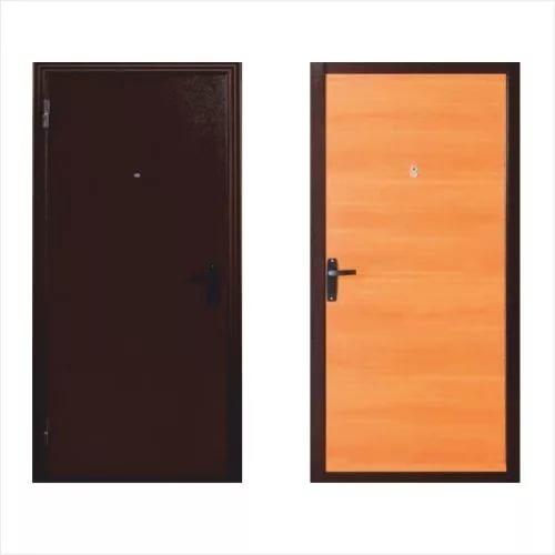 Дверь метал. 060 мил.орех 87 правая