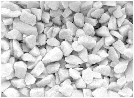 Щебень мрамор белый,супер-белый 10-20