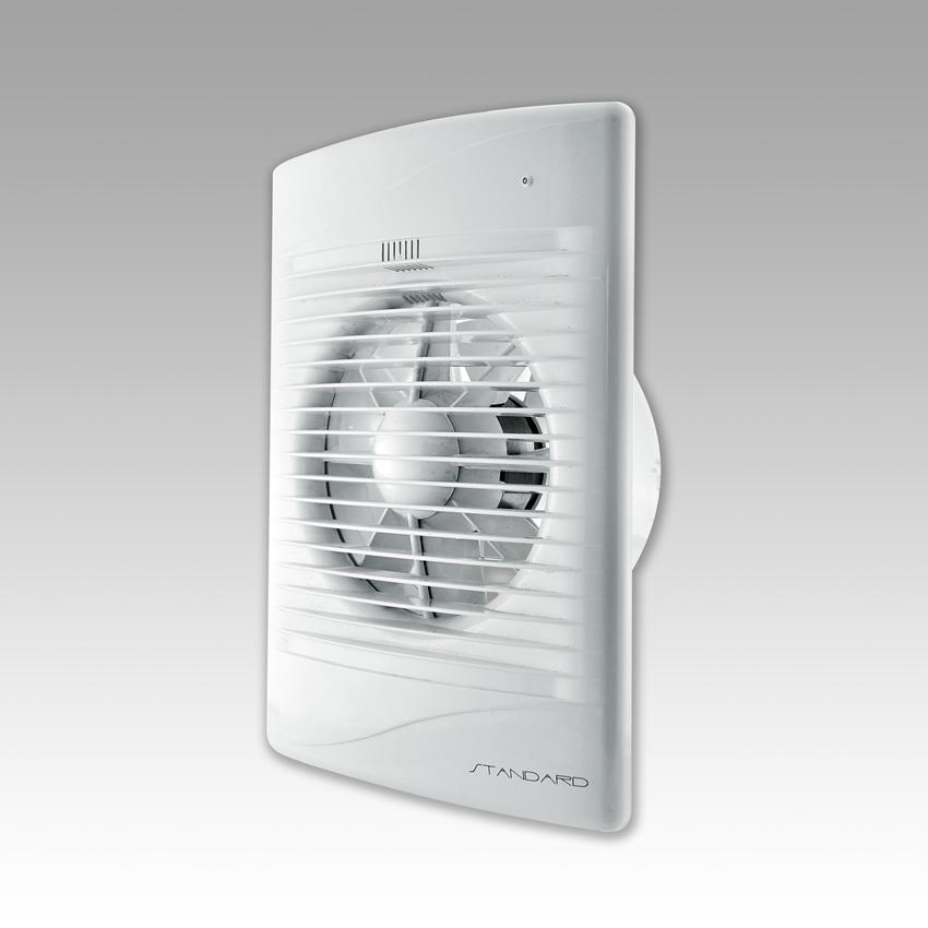 Вентилятор осевой вытяжной Стандарт 5С с обратным клапаном
