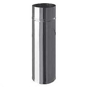 Дымоход ф110 L=0,25 м нерж. сталь 0,8 мм