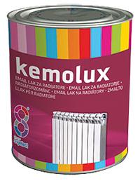 Эмаль для радиаторов KEMOLUX 0,75л белая п/глянец