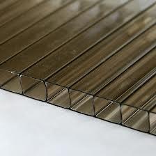 Поликарбонат 10мм бронза  1,1 кг/м.кв.